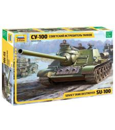 1:35 SOVIET S.P. GUN SU-100