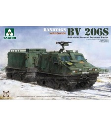 1:35 Bandvagn Bv 206S Articulated Armored Personnel Carrier