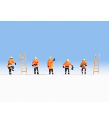 Fire Brigade (orange protective clothes)
