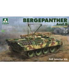 1:35 Bergepanther Ausf.D Umbau Seibert 1945 production w/ full interior kit