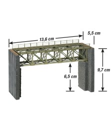 Steel Bridge for Narrow-gauge Railways