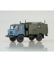KSM P-142N (GAZ-66) Command-Headquarters, Blue-khaki