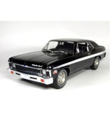 1970 Chevrolet Rally Nova, Black - Limited Edition 500 pcs. (opening hood with Small-Block 350 cu in engine)