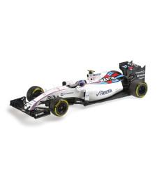 WILLIAMS MARTINI RACING MERCEDES FW37 - VALTTERI BOTTAS - 2015