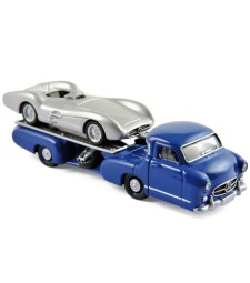 Mercedes Benz Renntransporter and Mercedes Benz W196 1954