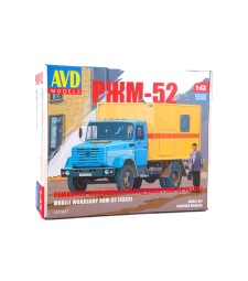 Mobile workshop RZhM-52 (ZIL-4333) - Die-cast Model Kit
