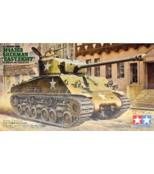 "1:35 U.S. Medium Tank M4A3E8 Sherman ""Easy Eight"" - European Theater - 2 figures"