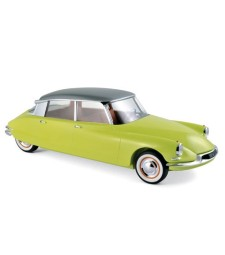 Citroen DS 19 1958 - Yellow Jonquille & Grey Metallic