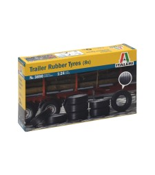 1:24 TRAILER RUBBER TYRES (8 pcs)