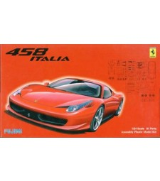 1:24 Ferrari 458 - REAL SPORTS CAR Series
