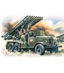"1:72 BM-13-16 ""Katiusha"", Multiple Launch Rocket System on ZiL-157 base"