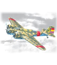 """1:72 SB 2M-100 """"Katiushka"""", Spanish Air Force Bomber"""