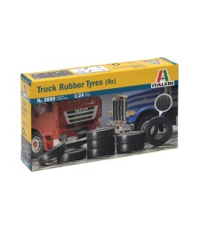 1:24 TRUCK RUBBER TYRES (8 pcs)