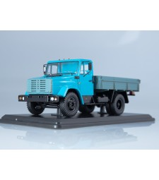 ZIL-4333 Flatbed Truck, Blue-Grey