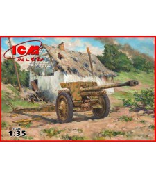 1:35 German Anti-Tank Gun 7,62 cm Pak 36(r), WWII