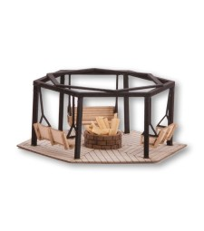 Barbecue Place with Swings 6,8 x 5,9 cm 2,7 cm high