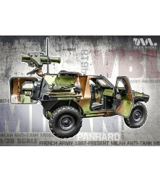 1:35 French Army 1987-Present VBL Milan Anti-Tank Missile Launcher