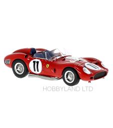 Ferrari TR60, RHD, No.11, 24h Le Mans O.Gendebien/P.Frere - 1960