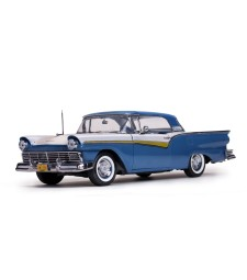 1957 Ford Fairlane 500 Skyliner - Dresden Blue/Colonial White