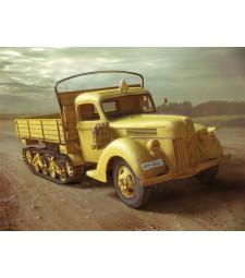 1:35 V3000S/SS M (Sd.Kfz.3b) Maultier, WWII German Semi-Tracked Truck