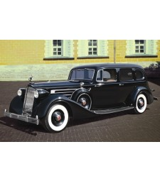 1:35 Packard Twelve (Model 1936), WWII Soviet Leader's Car with Passengers (5 figures)