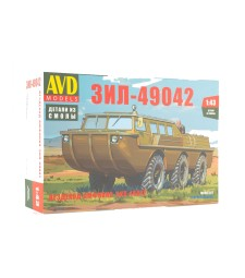 ZIL-49042 amphibious - all-terrain-vechicle - Die-cast Model Kit