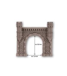 Tunnel Portal single track, 16 x 15,2 cm