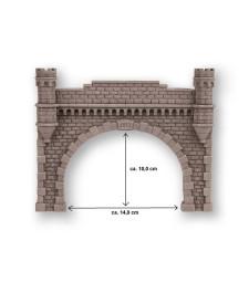 Tunnel Portal double track, 21,5 x 17,5 cm