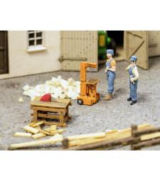 Wood Splitter and Circular Saw - 3D series