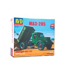 MAZ-205 dump truck, model kit
