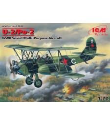 1:72 U-2/Po-2, WWII Soviet Multi-Purpose Aircraft