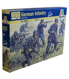 1:72 GERMAN INFANTRY - 50 figures
