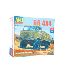 GAZ-66 4x4 flatbed truck - Die-cast Model Kit