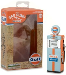 1951 Wayne 505 Gas Pump Gulf Oil Solid Pack - Vintage Gas Pumps Series 1