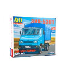 ZIL-5301 flatbed truck, model kit