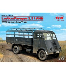 1:35 Lastkraftwagen 3,5 t AHN, WWII German Army Truck