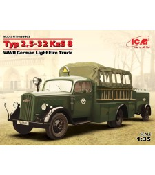 1:35 Typ 2,5-32 KzS 8, WWII German Light Fire Truck