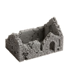 Chapel Ruin - 10,5 cm x 6,7 cm, 6,7 cm high (H0)