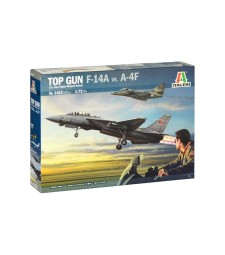"1:72 ""Top Gun"" F-14A vs A-4M"