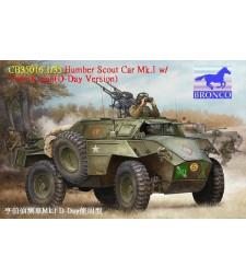 1:35 Humber Scout Car Mk. I w/twin k-gun (D-day version)