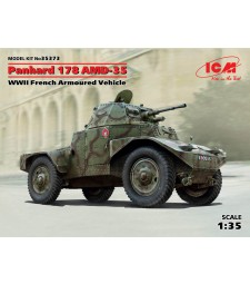 1:35 Panhard 178 AMD-35, WWII French Armoured Vehicle