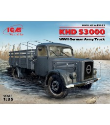 1:35 KHD S3000, WWII German Army Truck