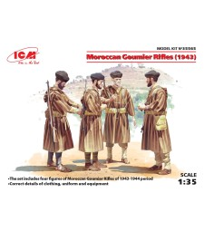 1:35 Moroccan Goumier Rifles (1943) (4 figures)