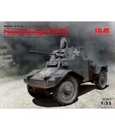 1:35 Panzerspаhwagen P 204 (f), WWII German Armoured Vehicle
