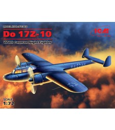 1:72 Do 17Z-10, WWII German Night Fighter (100% new molds - 2016)