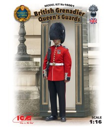 1:16 British Queen's Guards Grenadier (100% new molds – 2016)