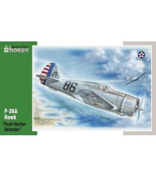 1:32 P-36 Pearl Harbor Defender