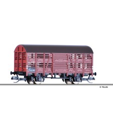Shed car for transport of animals of the BDZ, epoch III