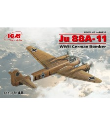 1:48 German Bomber Ju 88A-11, WWII