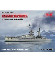 1:700 German Battleship